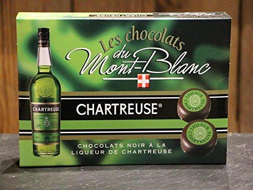 Chartreuse Likeur Pralines Geschenkdoos – Pure Chocolade met Chartreuse Alcohol – Uit Franse Alpen