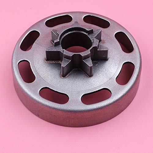 HAOHAO .325' 7T Cilindro del Embrague for Husqvarna 435 440 435E 440E Motosierra Reemplazar del Recambio 505441501