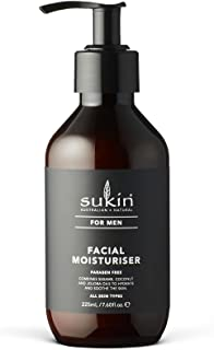 Sukin Men's Facial Moisturiser, 225 ml