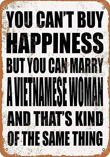 You Can Marry A Vietnamese Woman Maseratl metalen teken poster wandbord metalen borden vintage waarschuwingsbord retro schilden metalen decoratieve bar Pub Cafe