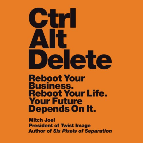 Ctrl Alt Delete audiobook cover art