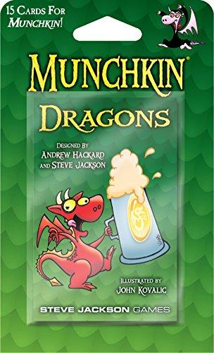 Munchkin: Dragons [Importato da UK]