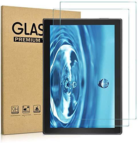 KATUMO -  Protector de pantalla universal para tablet de 10 pulgadas,  vidrio templado HD transparente para Dragon Touch 10inch/TAOERA/SZWEIL/Yuntab K107/BENEVE/KXD/Kubi/HONGTAO/LNBEI/ibowin