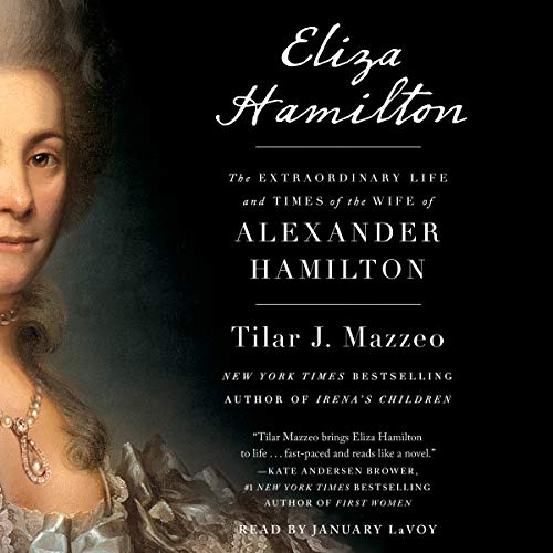 Eliza Hamilton audiobook cover art