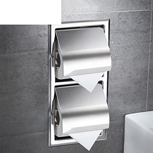 Edelstahl Handtuchhalter/Unterputz-kasten/Regal Von Wc-papier Für Badezimmer-C