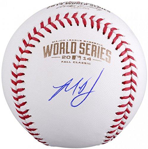 Madison Bumgarner Autographed 2014 World Series Baseball - Autographed Baseballs