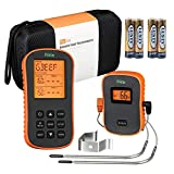 riida Wireless Meat Thermometer with Timer Alarm Functions Great for Kitchen BBQ Smoker