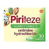 Piriteze Antihistamine Allergy Relief Tablets, Cetrizine 30s