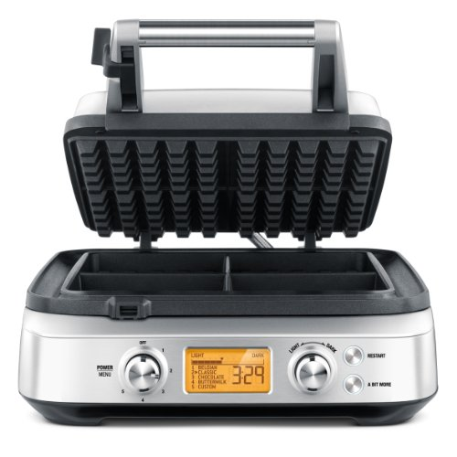 Breville The Smart 4-Slice Waffle Maker