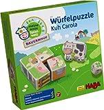 HABA 5589 - Meine erste Spielwelt Bauernhof - Würfelpuzzle Kuh Carola