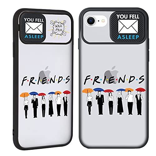 "Joyleop Push Friends Case for iPhone 6/6S/7/8/SE 2020 4.7"",Trendy Cover Unique Design Fun Funny Cool Designer Aesthetic Fashion Stylish Cases for Girls Boys Men Women for iPhone 6/6S/7/8/SE 2020"