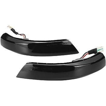 BANIKOP Dynamique LED Clignotant Voyant LED R/étroviseur lat/éral Clignotant Indicateur S/équentiel Lampe pour Ford Focus 2 3 Mk2 Mk3 Mondeo Mk4