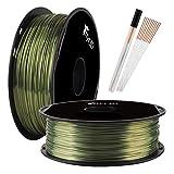 Shine Bronze 1.75mm PLA 3D Printer Filament Metallic Bronze Shiny 3D Printing Material 1KG Spool TTYT3D