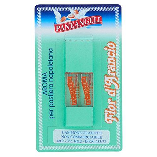 Paneangeli - Aroma, Fior d'Arancio, per pastiera napoletana - 8 confezioni da 2 pezzi da 4 ml [16 pezzi, 64 ml]