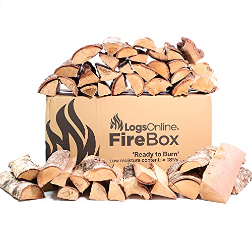 Logs Online 20kg Kiln Dried Small Pizza Oven Logs. Suitable for Ooni Pizza Oven. Wood Logs for Outdoor Garden Burning. Woodsure 'Ready to Burn' Certified.