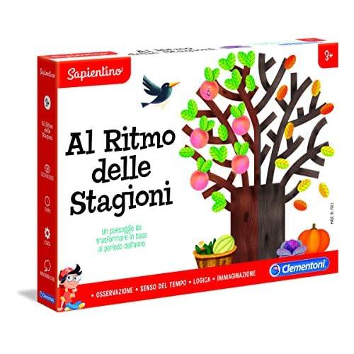 Clementoni-16152-Sapientino-Al Ritmo delle Stagioni, Gioco educativo, Multicolore, 16152