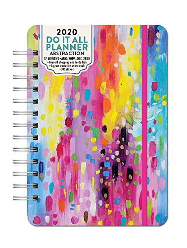 Orange Circle Studio 2020 Do It All Planner, Abstraction