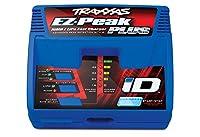 Traxxas 2970 EZ-Peak Plus 4-Amp NiMH / LiPoファストチャージャー、iD自動バッテリ識別付