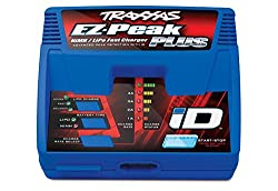 top 10 rc quick charger Traxxas 2970 EZ-Peak Plus 4 Amp NiMH / LiPo Quick Charger with Automatic iD Battery Identification