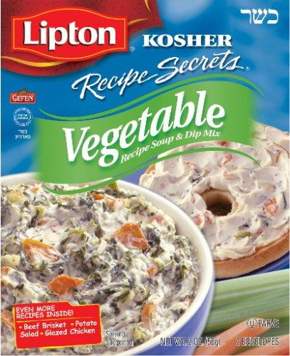 Lipton Gefen Kosher New mail order Soups Ranking TOP10 Secrets Recipe Vegetabl