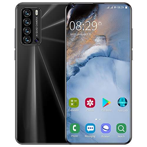 phone HD entsperrtes Handy Vollbild-Smartphone Android-Spezialtelefon Langlebiger Akku Gesichtserkennung 6,8-Zoll-Superdünn-Handy
