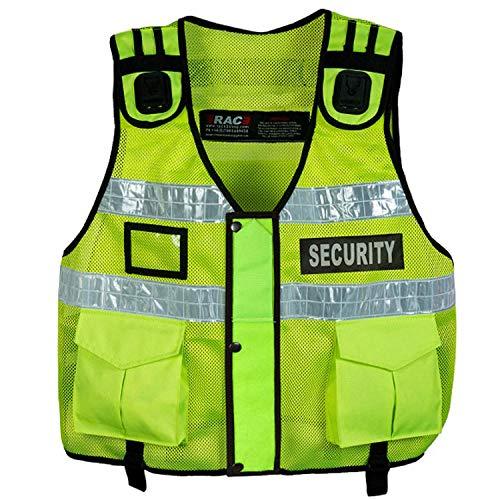Chaleco táctico de alta visibilidad, inspector de manipulación de perros, chaleco de seguridad, chaleco de tac (portero)
