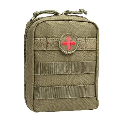 WZRY Domicile Pochettes Militaire de Plein air Pochettes Tactiques Sac de Premier Secours (Color : Green)