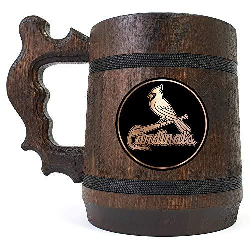 St. Louis Cardinals Beer Mug, Sport Beer Stein, Baseball Team, Beer Lover Gift, Beer Stein, Gift for Gamer, Gift for Him, Engraved Beer Mug