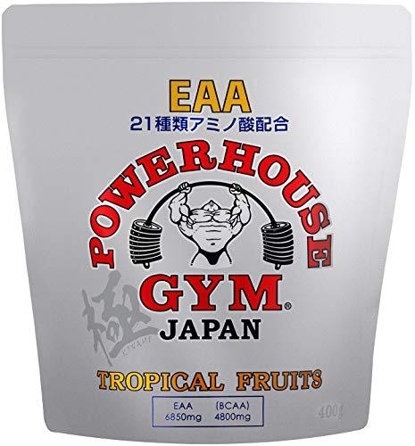 【公式販売店】POWERHOUSE GYM | パワーハウスジム 必須アミノ酸 非必須アミノ酸 配合 EAA トロピカルフルーツ 極ボディ NPCJ公認