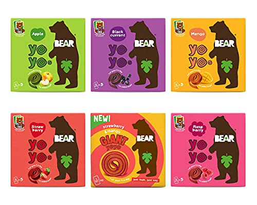 Bear Selections (Bear YOYOS 6x5x20g)
