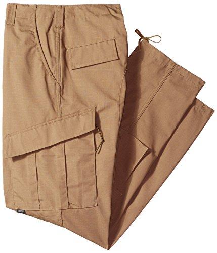 Tru-Spec - Pantaloni Tattici da Uomo, Uomo, Pantaloni, 7100, Coyote, M