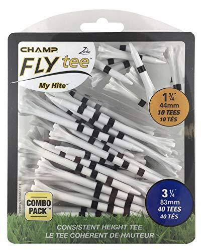 CHAMP Unisex-Adult 83mm Mein Hite Flytees Combo, schwarz/Weiß, ONE Size