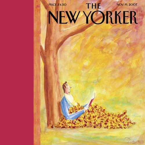 The New Yorker (November 19, 2007) audiobook cover art