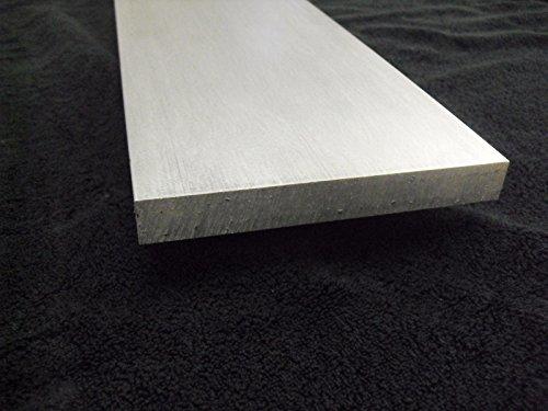 "1/4"" Aluminum 4"" x 24"" Bar Sheet Plate 6061-T6 Mill Finish"