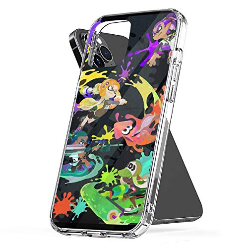 Phone Case Compatible with iPhone 12 2020 8 Xr 7 11 Se 6 X Splatoon 6s Plus Xs Pro Max Mini Tested Shock Scratch Accessories Waterproof Drop