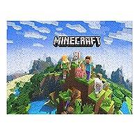 Minecraft ジグソーパズル 益智減圧玩具 プレゼントパズル ストレスを解消する 大人用 子供用 興味パズル(200pcs/300pcs/500pcs/1000PSC)