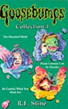 """Goosebumps Collection 4: """"Haunted Mask"""", """"Piano Lessons Can be Murder"""", """"Be Careful What You Wish for"""""""