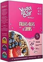 Yogabar Breakfast Cereal & Muesli | 92% Fruit and Nut + Seeds + Whole-Grains | 400g