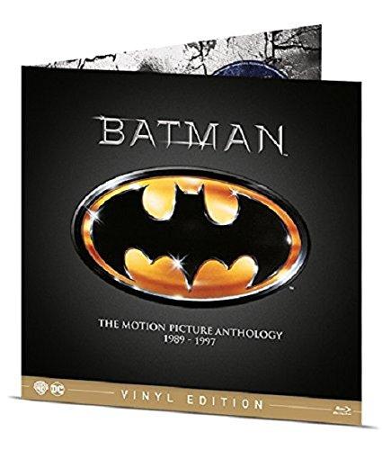 Batman Antologia 1989-1997 Vinyl Edition (4 Blu-Ray) [Italia] [Blu-ray]