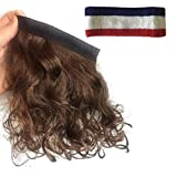 Mullet Headband Multi Purpose Removable Stick On Wig For All Costumes