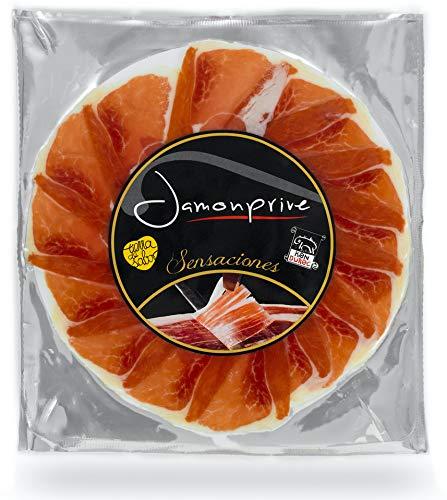 Serrano Schinken Gereift Duroc In Scheiben (Handgemacht) Teller mit 100 gr - Spanischer Schinken (Jamon) Jamonprive