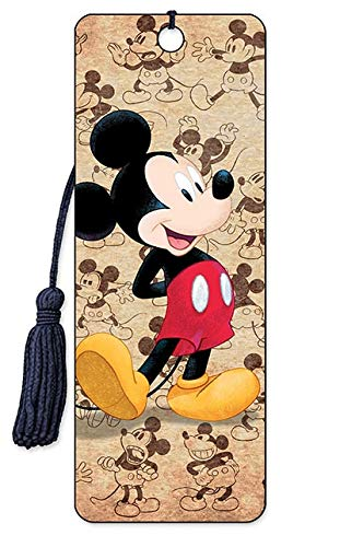 Disney 3D Bookmarks - by Artgame (Mickey Mouse - Classic)
