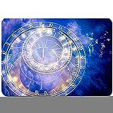 Alfombras Absorbente Antideslizante Reloj astronómico de Praga en el Antiguo Ayuntamiento Ultra Suave Alfombrilla De Baño Corredor-80x60cm