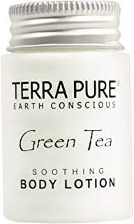 Terra Pure Body Lotion, Travel Size Hotel Amenities, 1 oz (Case of 50)
