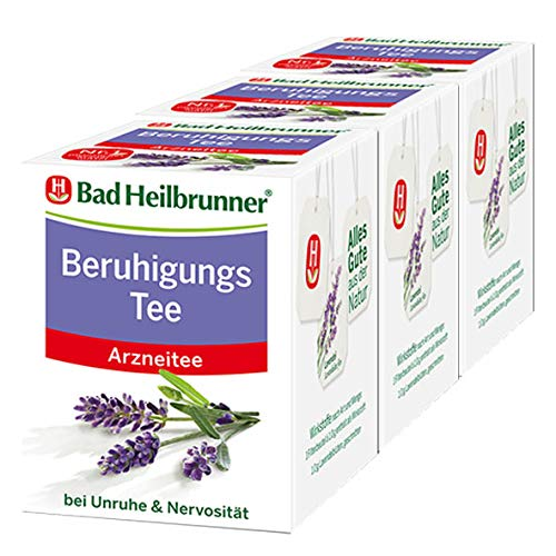 Bad Heilbrunner® Beruhigungs Tee, 3er Pack