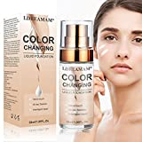 Liquid Foundation,Foundation Cream,Flawless Colour Changing Foundation,Hides Wrinkles & Lines,BB...