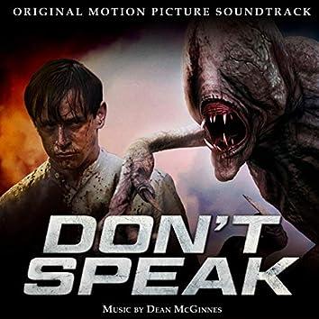 Don't Speak (Original Motion Picture Soundtrack)
