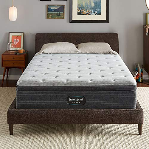 Best Price Beautyrest Silver BRS900 13 inch Plush Euro Top Mattress and Box Spring