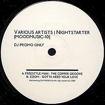 Nightstarter Sampler