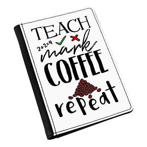 Lerne die Mark Kaffee Dupliziert Pass-Etui Deckel